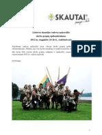 2012 m. vadovų sąskrydžio darbo grupių apibendrinimai
