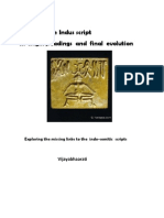 The Indus Script-Its Origin,Readings and Final Evolution