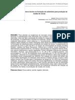 Uso de biochar e esterco bovino na formação de substratos para produção de mudas de rucula