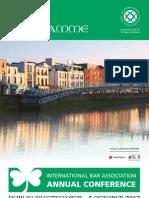 IBA Dublin 2012 - Final_programme