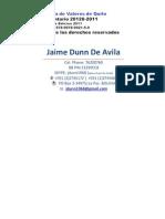 La Titularización de derechos sobre Flujos Futuros (Jaime Dunn)