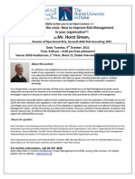 Mr Horst_Open Lecture Invitation