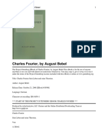17248697 August Bebel Charles Fourier Sein Leben Und Seine Theorien