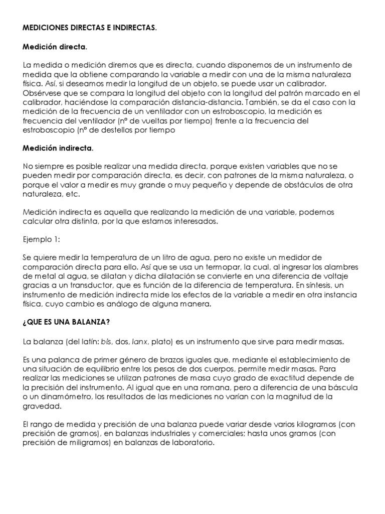 f7101cdfe Mediciones Directas e Indirectas