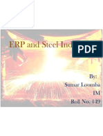 ERP and Steel Industry