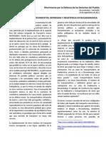 Represión y Resistencia en Bucaramanga - MODEP