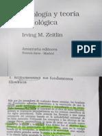 """""""Ideología y teoría sociológica""""  Zeitlin I Parte"""