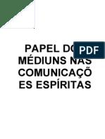 17 - Papel do Médium nas Comunicações Espíritas (Versão-Jan0