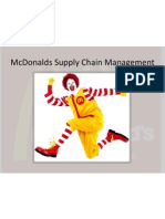 Mcdonalds Supply Chain Management