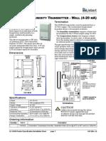 Humidity and Temp Sensor