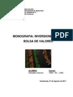 Monografia - Mercado de Valores