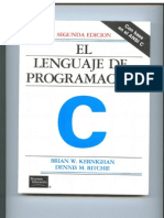 El Lenguaje de programacion C 2ª Ed