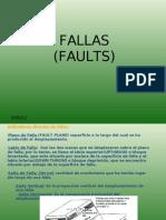 FALLAS/FAULTS