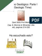 TIEMPO GEOLOGICO