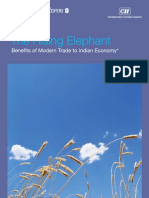 Rising Elephant Benefits of Modern Tradeto Indian Economy
