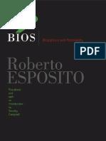 Roberto Esposito - Bios