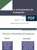 Técnicas e Instrumentos de Evaluación Clase 4 PracticaII