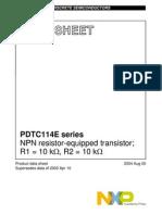 PDTC114E_SERIES Transistor Digital