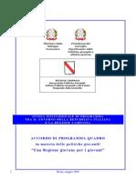 Accordo Programma Quadro 2008