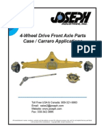 Carraro Drive Axle Main Catalog