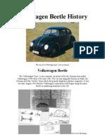 THE HISTORY OF VOLKSWAGEN BEETLE