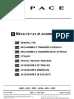 Mr362espace IV Mecanismes Accessoires