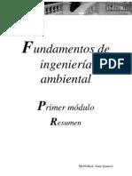 Fundamentos de ingeniería ambiental - 1º Módulo