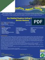 eco habitat daytime sailing