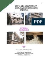 Filosofía de Diseño para Estructuras de Hormigón Armado, c. 1