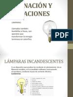 APÁRATOS DE ILUMINACIÓN Y APLICACIONES