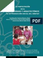 La participación en el diseño urbano y arquitectónico en la producción social del hábitat