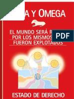 ESTADO DE DERECHO-ALFA Y OMEGA-CIENCIA CELESTE