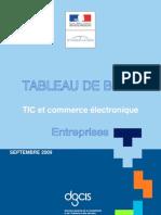 Tableau de Bord TIC France