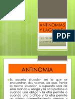 Antinomias y Lagunas