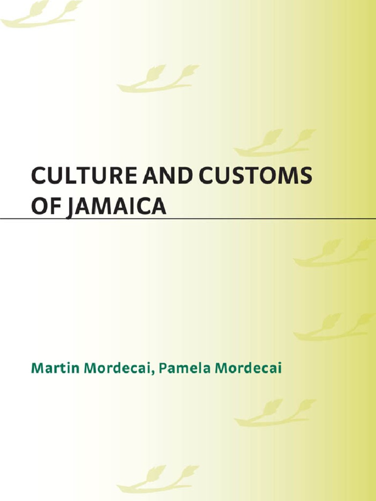 75731924 Culture And Customs Of Jamaica Culture And Customs Of Latin