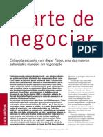 Artigo - A Arte de Negociar - Roger Fisher