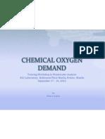 Chemical Oxygen Demand 2012