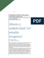 Aborto y Subjetividad Elina Carril