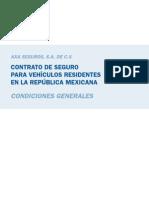 Condiciones GeneralesAXA 2009