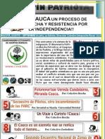 Boletin Patrióta No.2 - Cauca. Un proceso de lucha y resistencia por la independencia!