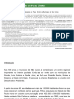 Levantamentos do PD - Diagnóstico do Plano Diretor do Município de São Carlos, SP (2003)