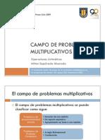 Campo de Problemas Multiplicativos