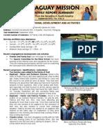 Mission Report - Sept 2012