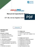 Manual de AdminPAQ 2012