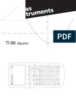 Manual Graficadora Texas Instruments