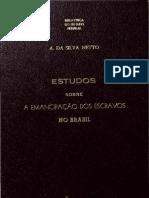 Estudos sobre a emancipação dos escravos no Brasil - Silva Netto