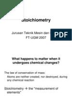 04 Stoichiometry