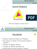 Geometria Dinâmica com WinGeom