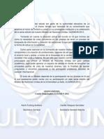 Convocatoria ULSAMUN 2012