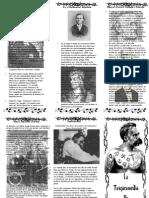 La tragicomedia de Nietzsche (folleto biográfico)